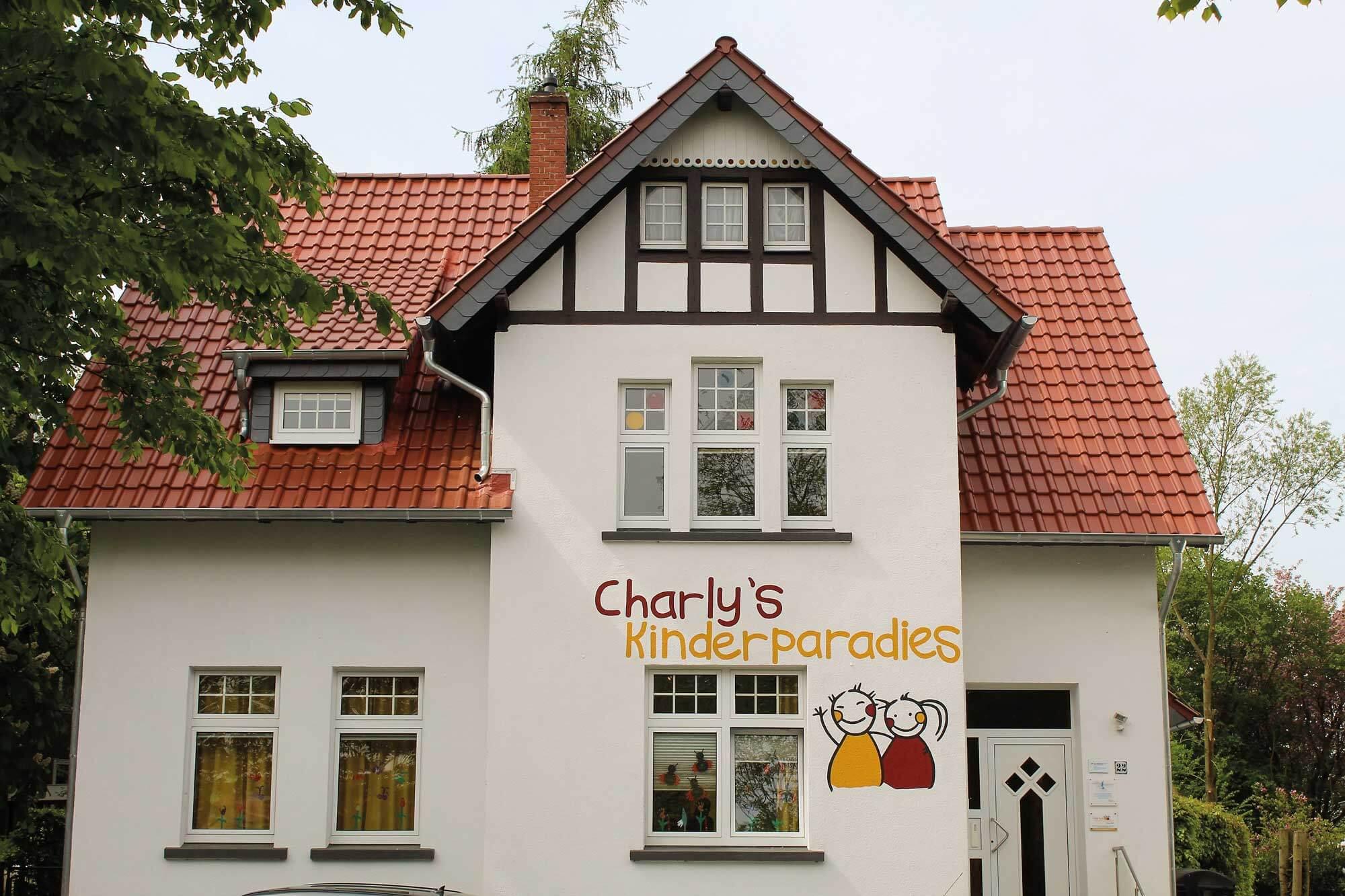 Außenaufnahme eines Charly's Kinderparadies