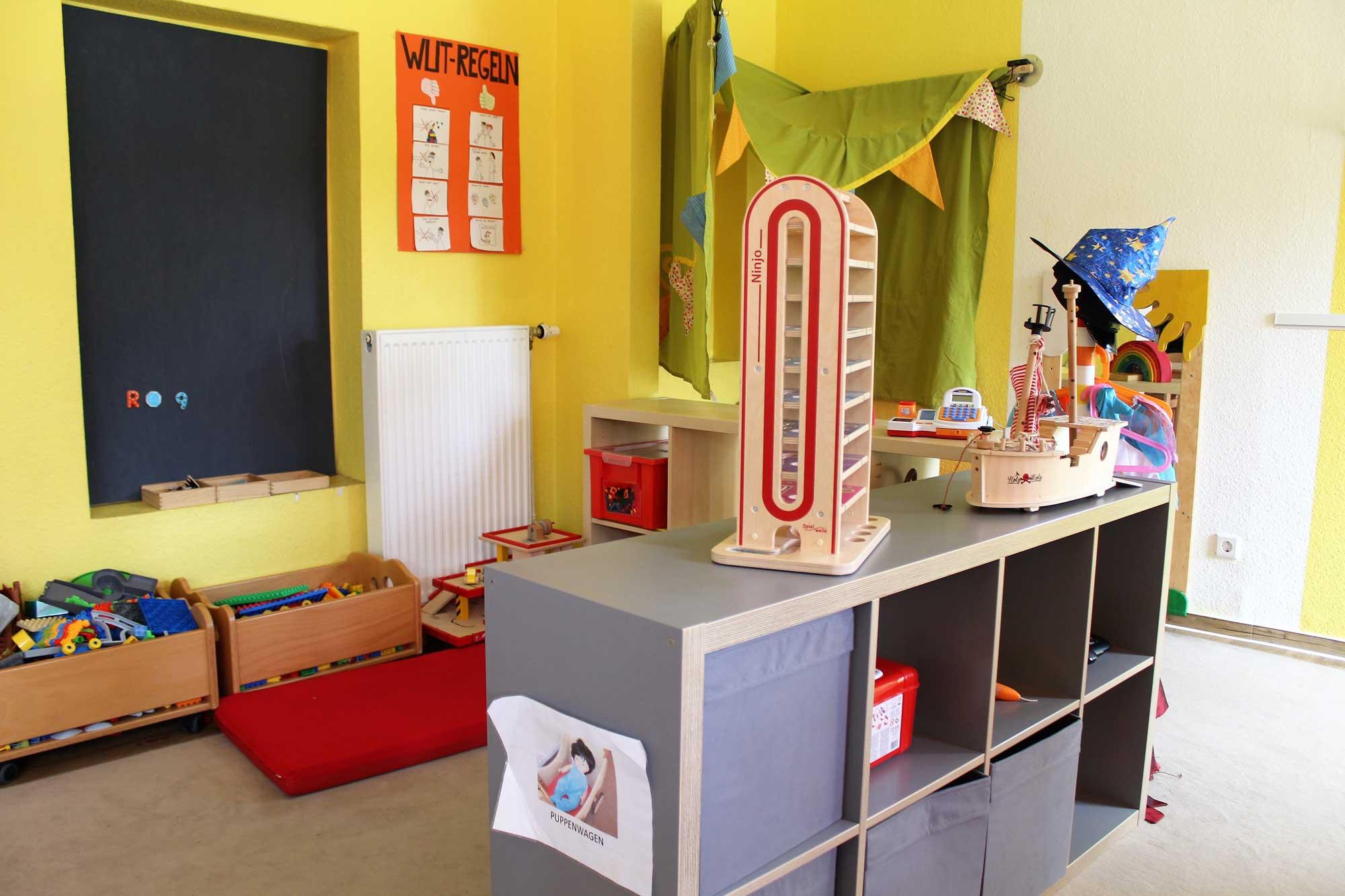 Spielbereich im Kindergarten