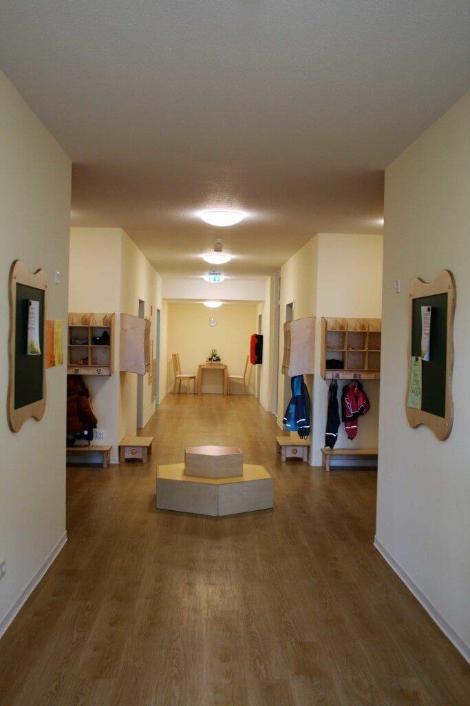 Innenaufnahme des Eingangsbereiches