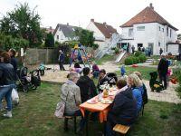 Außenaufnahme vom Sommerfest in Melle