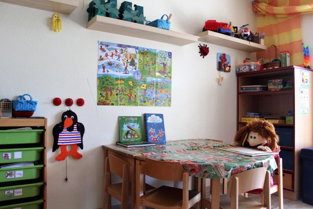 Innenansicht des betrieblichen Kindergartens