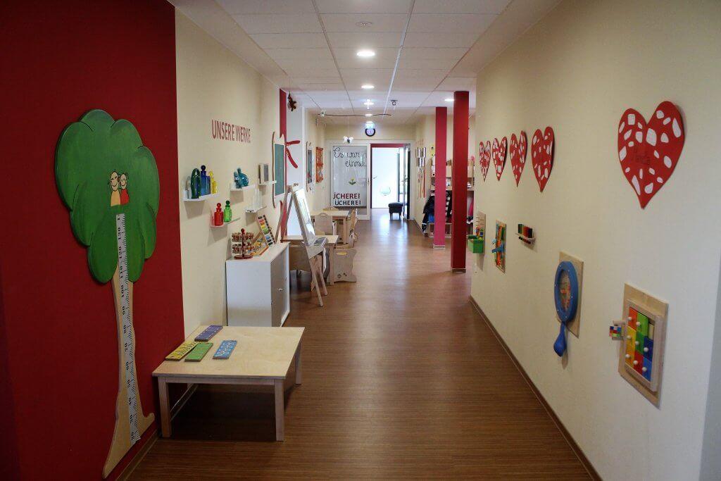 Flurbereich der Kindergarteneinrichtung